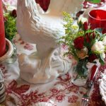 Roosters, Roses and Red