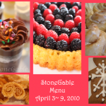 StoneGable Menu Plan & Inspiration Party