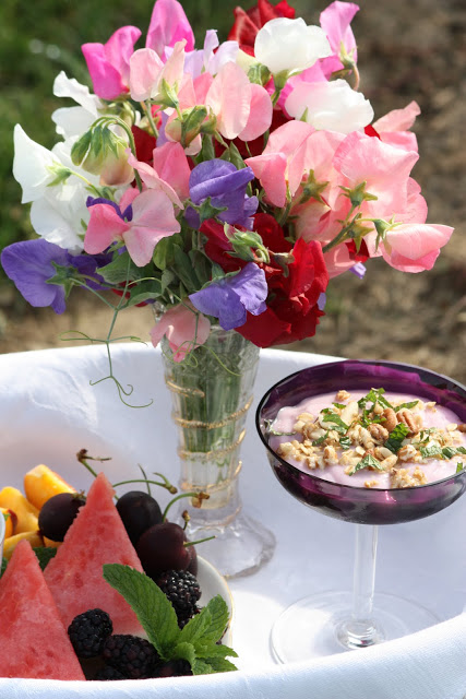 Breakfast And Sweet Peas