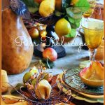 Pear Tablescape