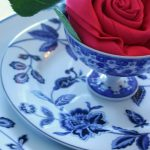 INDIGO BLOOM TABLESCAPE AND MIKASA GIVEAWAY