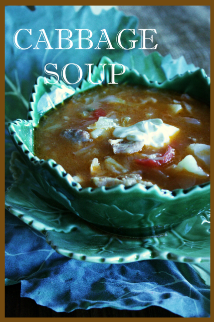 NANI'S CABBAGE SOUP