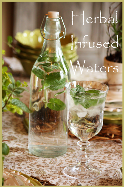 HERBAL INFUSED WATERS