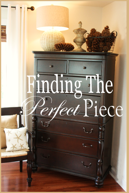 FINDING THE PERFECT PIECE