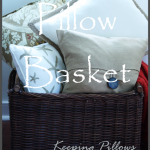 PILLOW BASKET