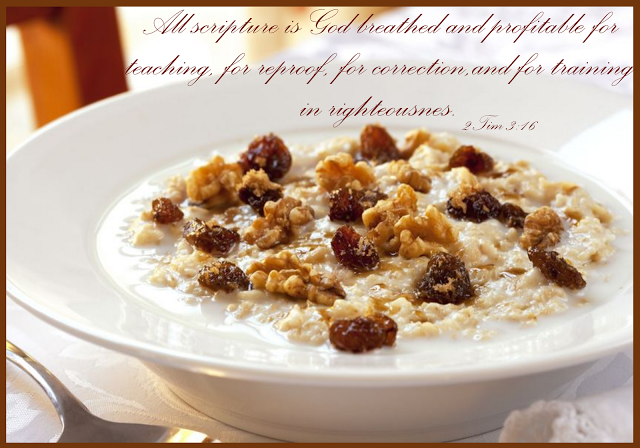 SUNDAY SCRIPTURE~ SPIRITUAL BREAKFAST
