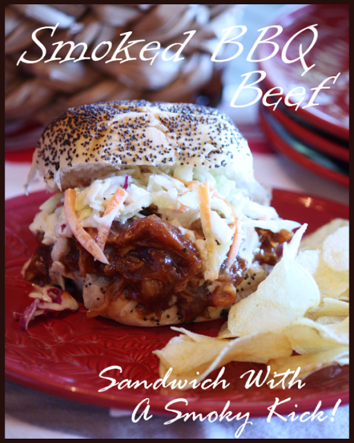SMOKY BBQ BEEF SANDWICHES