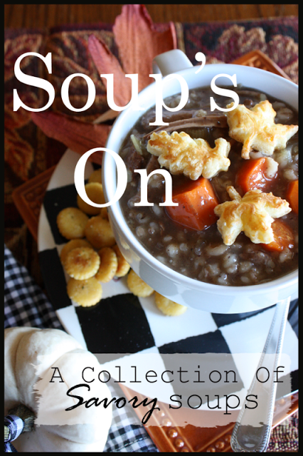 SOUP'S ON~ A COLLECTION OF SAVORY SOUPS