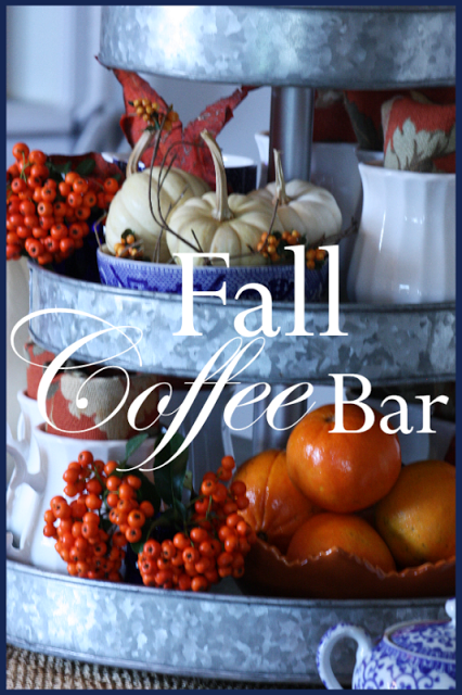 Fall Coffee Bar Stonegable