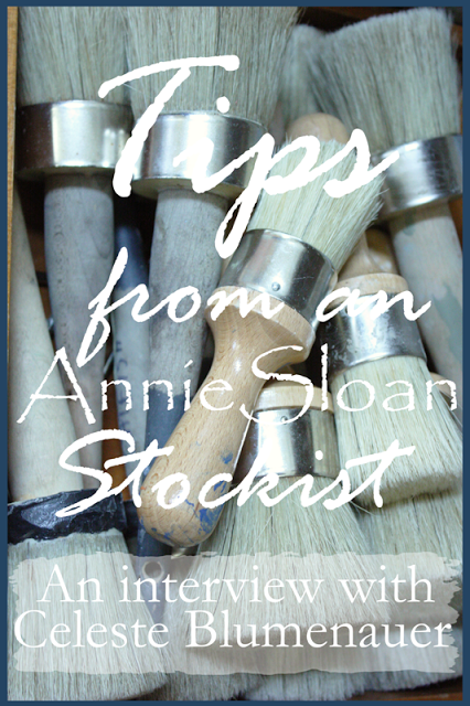 TIPS FROM AN ANNIE SLOAN STOCKIST