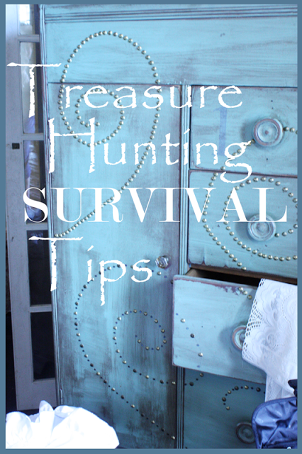 TREASURE HUNTING SURVIVAL TIPS