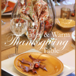COZY AND WARM THANKSGIVING TABLE