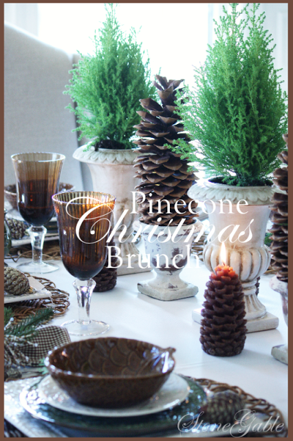 HOMESPUN CHRISTMAS LINKY PARTY ~ RECIPES AND TABLESCAPES