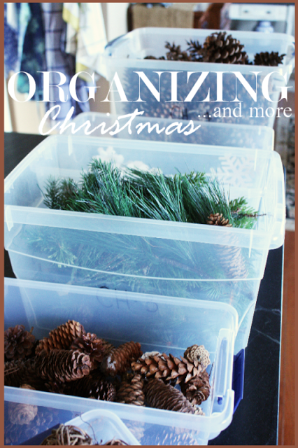 ORGANIZING CHRISTMAS… and more