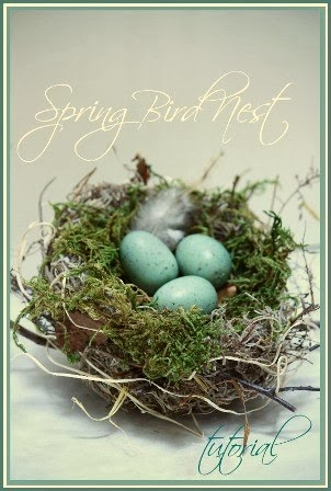 SPRING BIRD NEST TUTORIAL