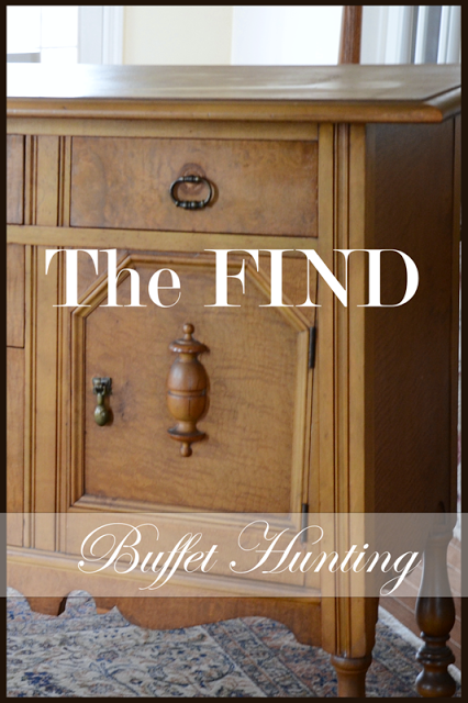 THE FIND~ BUFFET HUNTING