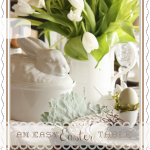 AN EASY EASTER TABLE~ USING A FORMULA