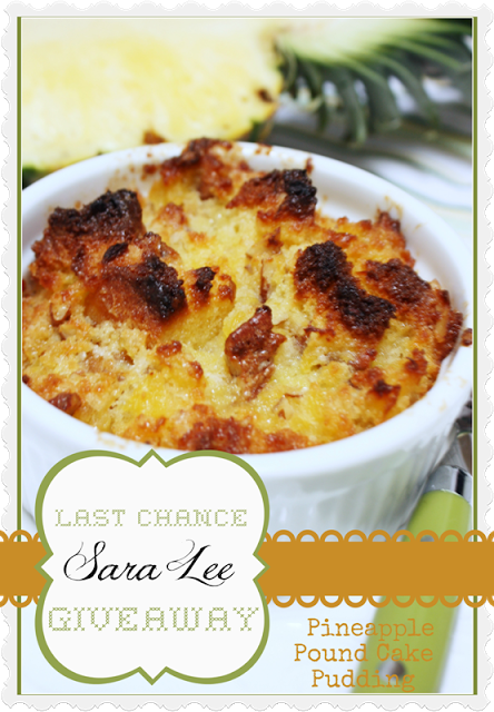 LAST CHANCE TO ENTER SARA LEE GIVEAWAY
