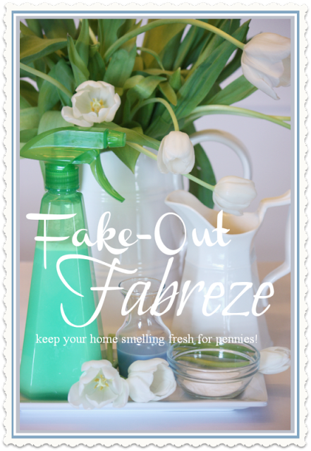 HOMEKEEPING HINTS~ FAKE-OUT FABREZE