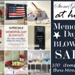 STONEGABLE AT HOME MEMORIAL DAY BLOWOUT SALE