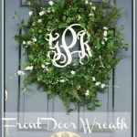 FRONT DOOR WREATH~ SUMMER 2013