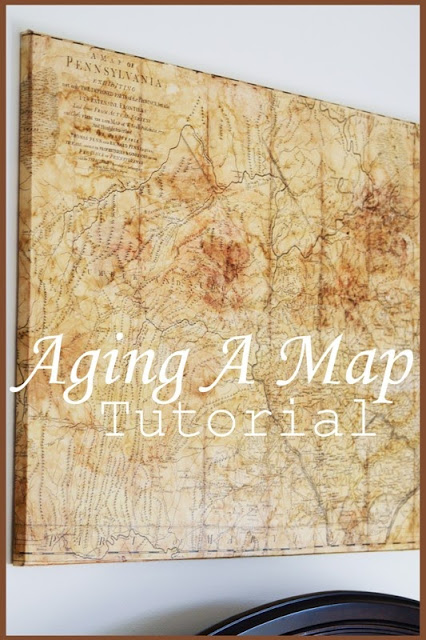 AGING A MAP TUTORIAL