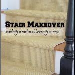 sisal-jute-natural+looking+runner+on+the+stairs+stonegableblog.com+TITLE+PAGE
