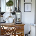 VINTAGE SILVERWARE WALL ART DIY