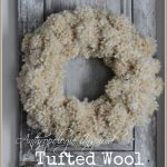 Anthropologie+Inspired+Tufted+Wool+Wreath-stonegableblog