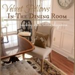 Posie+Pillows+In+The+Dining+Room-stonegableblog
