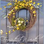 FORSYTHIA WREATH DIY