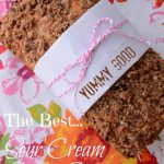THE BEST SOUR CREAM COFFEE CAKE!