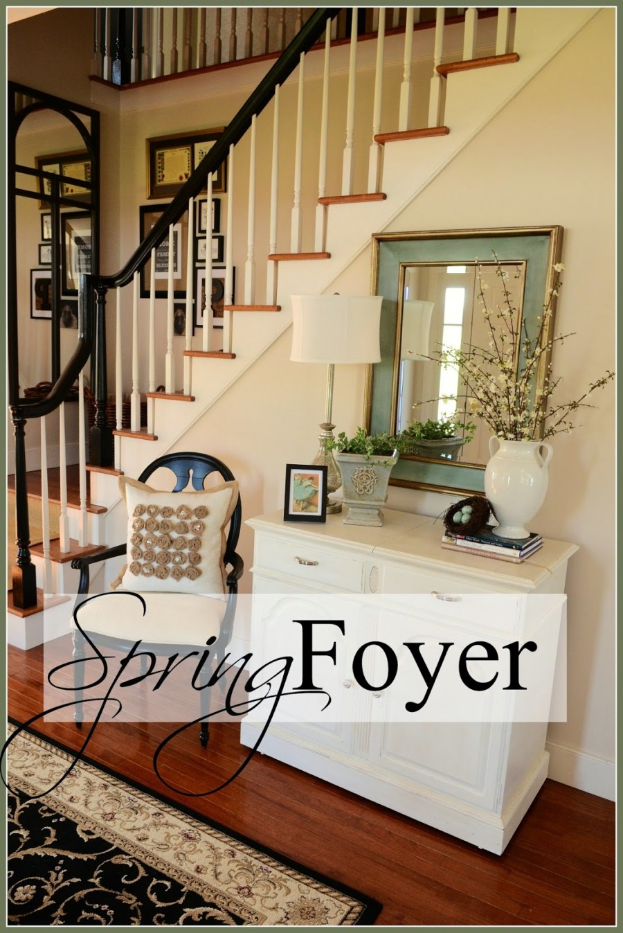 No Foyer Design : Spring foyer stonegable