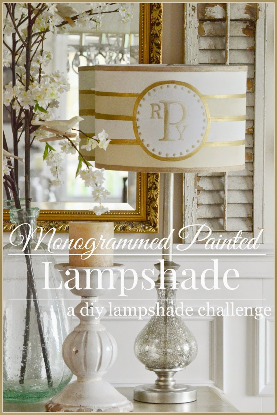 LAMPS.COM DIY LAMPSHADE CHALLENGE~ I NEED YOUR VOTE!