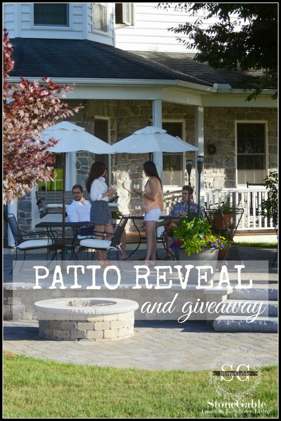 PATIO REVEAL AND GIVEAWAY