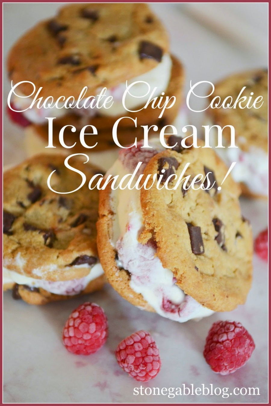 THE BEST AND EASIEST COOKIE ICE CREAM SANDWICH YOU WILL EVER EAT!