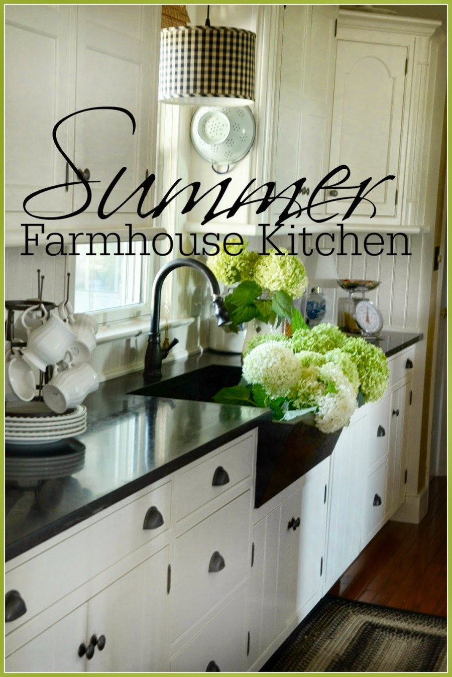 The Summer Farmhouse Kitchen Stonegable