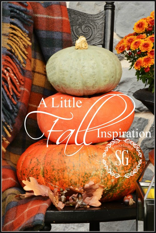 A LITTLE FALL INSPIRATION