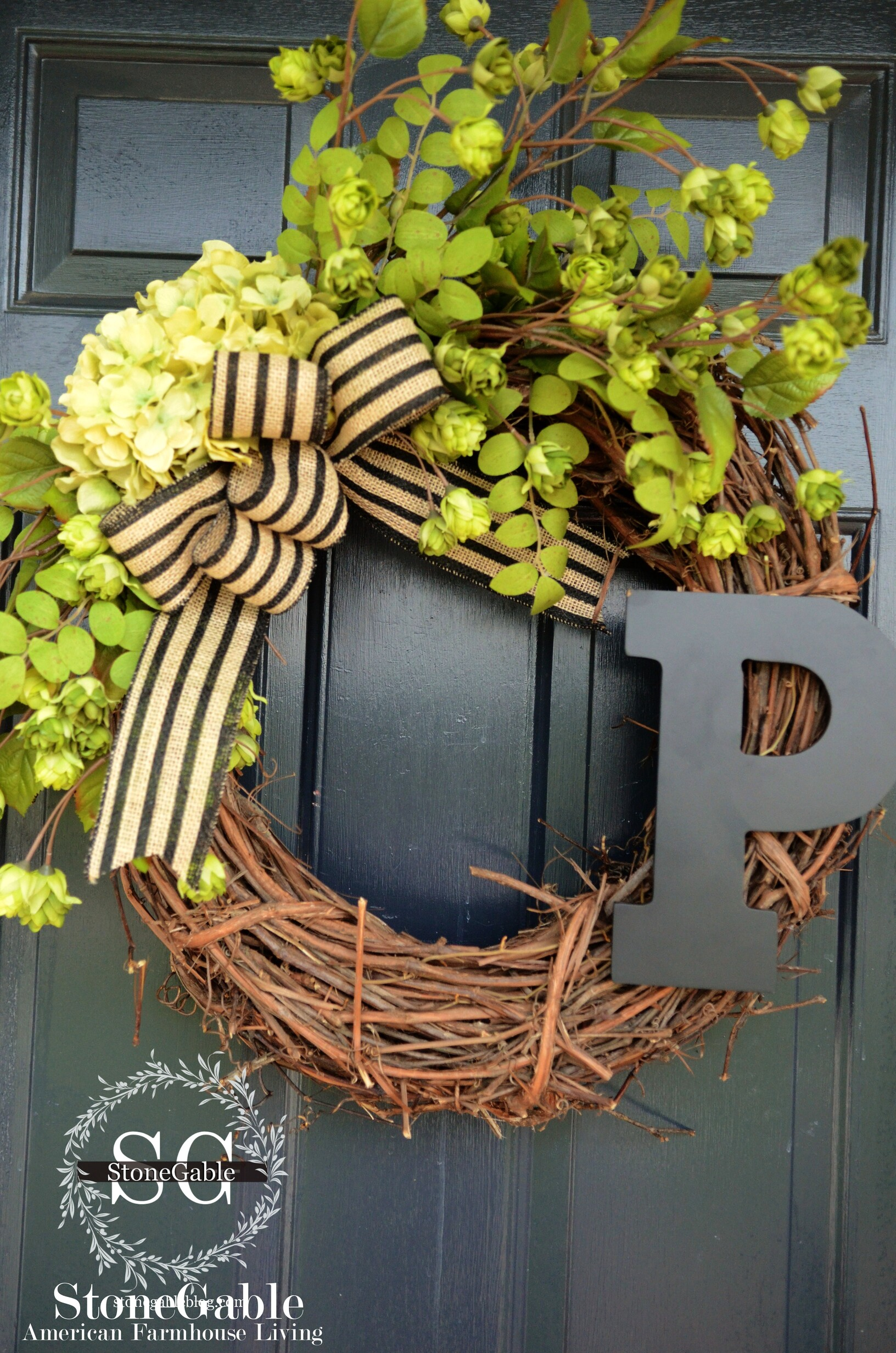 Early Fall Wreath Diy Stonegable