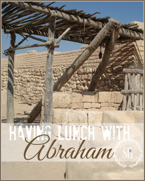 HAVING LUNCH WITH ABRAHAM
