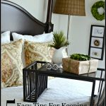 Easy ways to keep guest rooms and bathrooms clean-stonegableblog.com