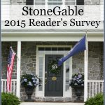 StoneGable 2015 Reader's Survey-stonegableblog.com