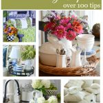 THE BEST OF THE BEST DECORATING TIPS- get over 100 decorating tips-stonegableblog.com