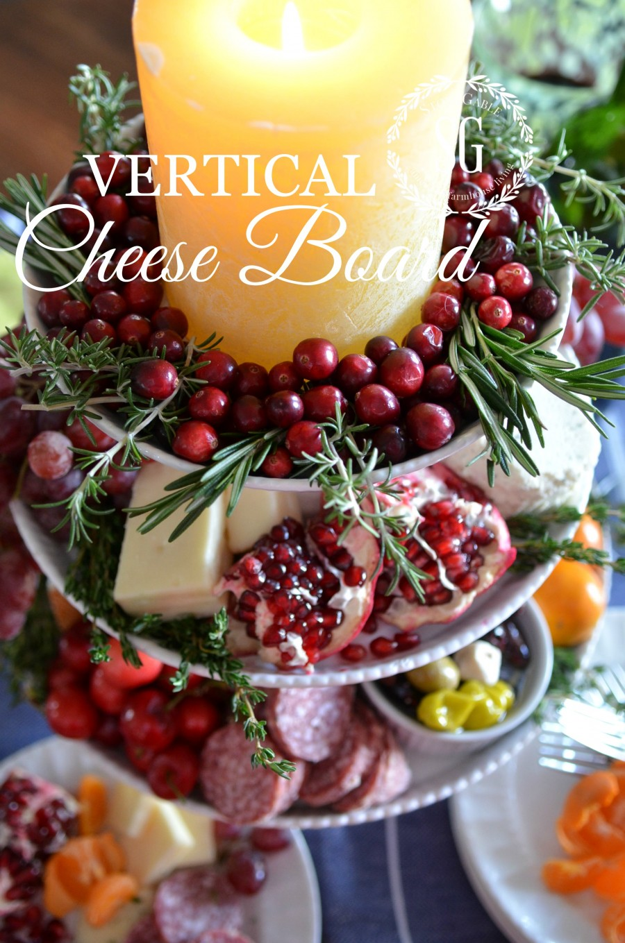 VERTICAL CHEESE BOARD