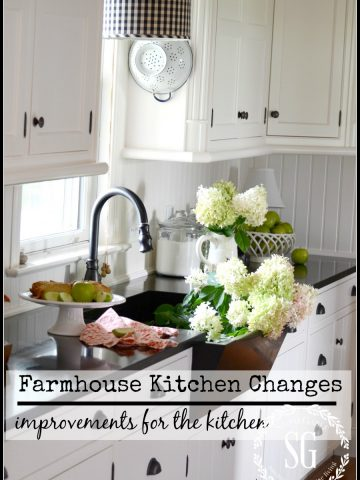 Farmhouse kitchen changes-stonegableblog.com