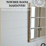 A PEEK AT OUR POWDER ROOM MAKEOVER