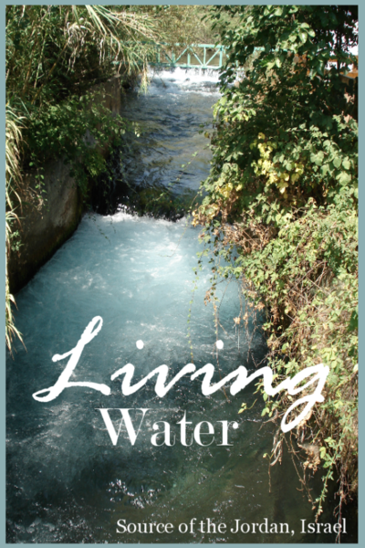 THE BEST OF SERIES… LIVING WATER