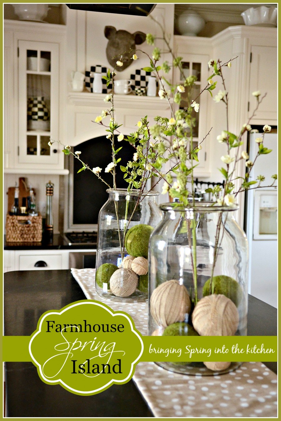FARMHOUSE SPRING ISLAND VIGNETTE StoneGable