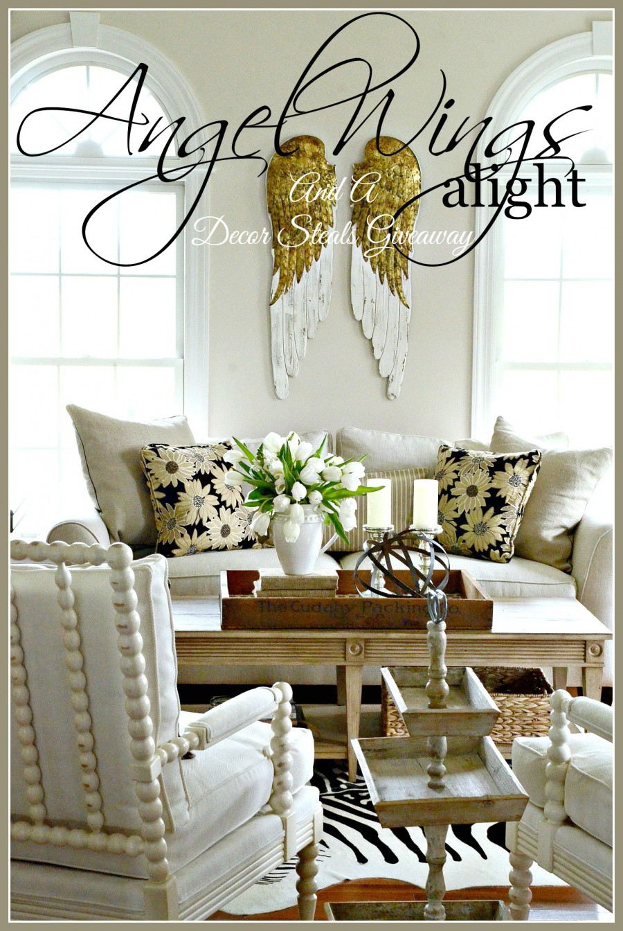 ANGEL WINGS ALIGHT AND A GIVEAWAY