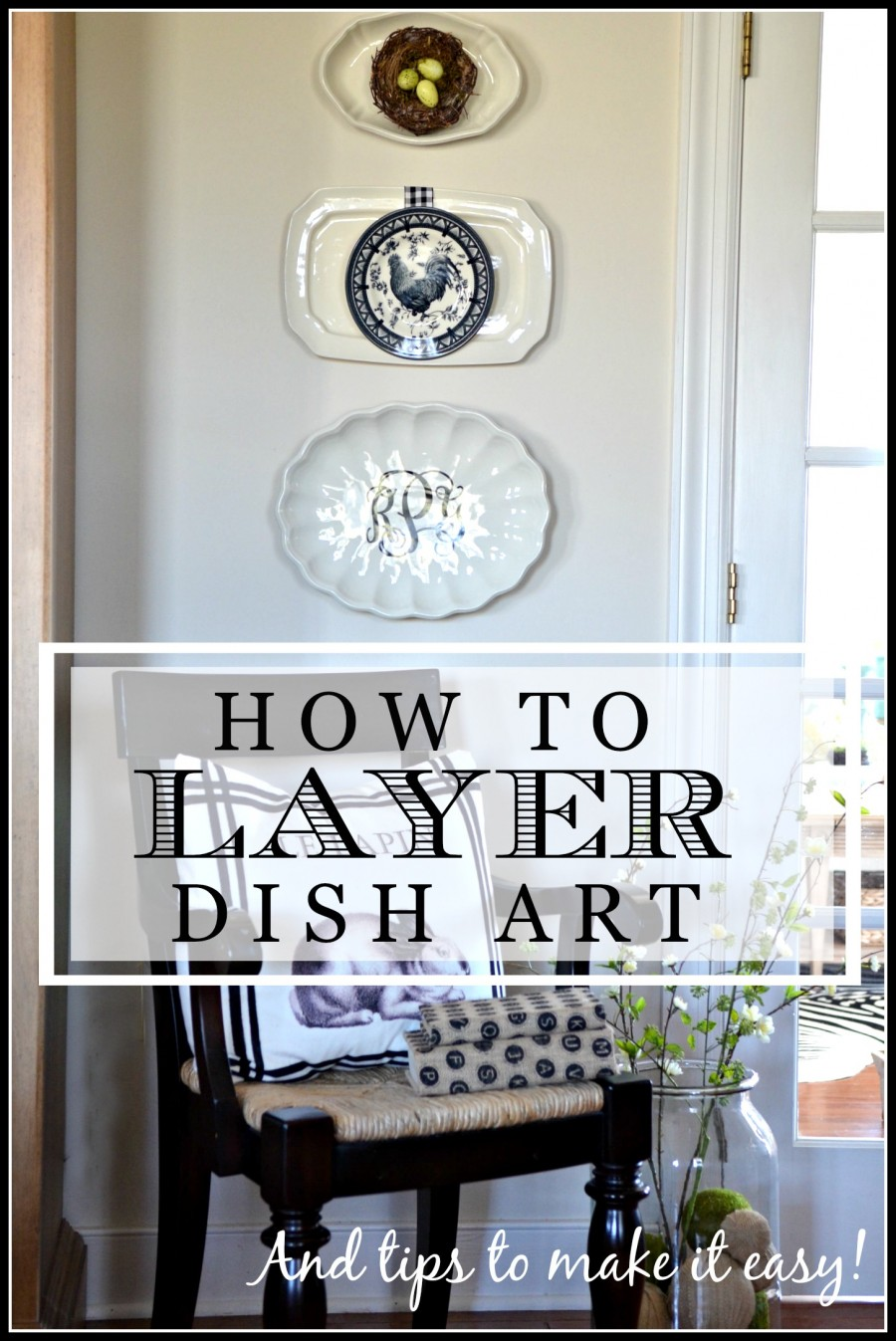 HOW TO LAYER DISH ART
